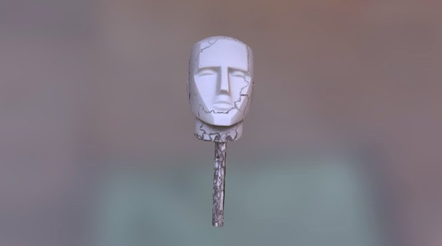 Faceted Head Edit 2 3D Model