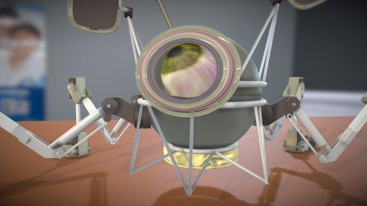 Robot Lab 3D Model