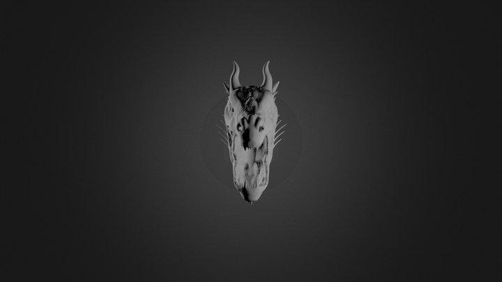 sculpture of dragon 3D Model