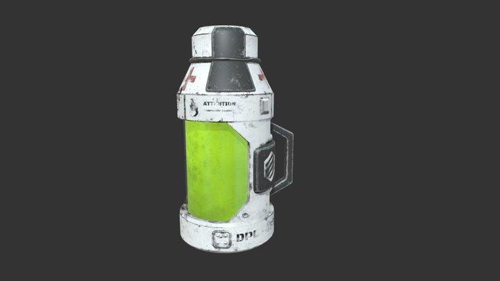 Sci-fi medkit 3D Model