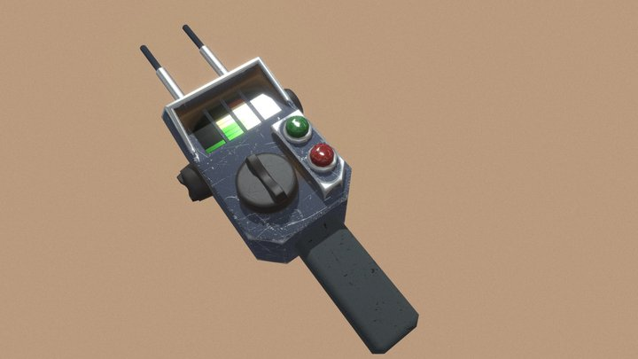 PKE Extreme Ghostbusters 3D Model