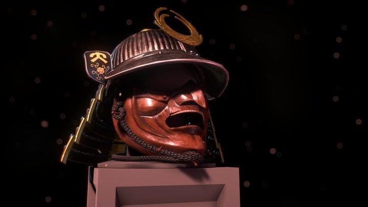 PBR Kabuto [Samurai Helmet] 3D Model