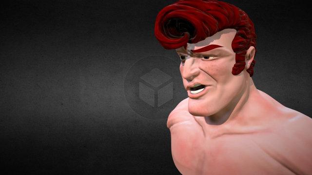 Rockeur Rouquin 3D Model