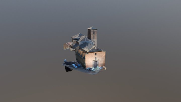 Iglesia De San Cristobal 3D Model