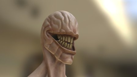 The Ringleader - Head 3D Model