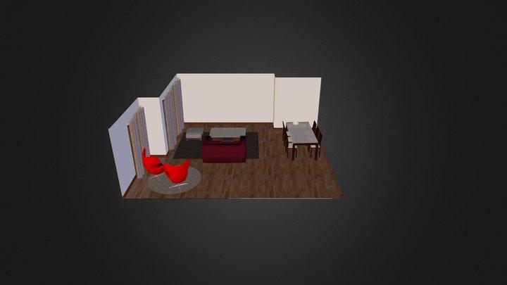 Interior-Sandra 3D Model