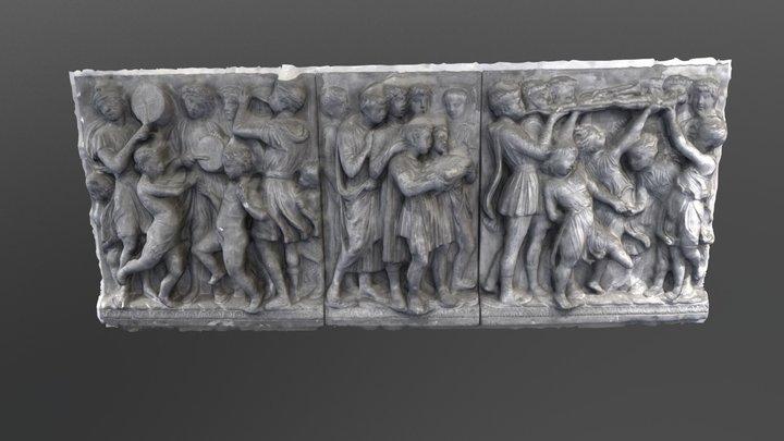 Moulage d'un relief 3D Model