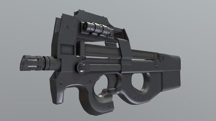 P90 - stargate 3D Model