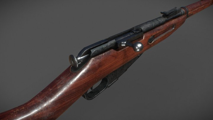 Mosin-Nagant 3D Model