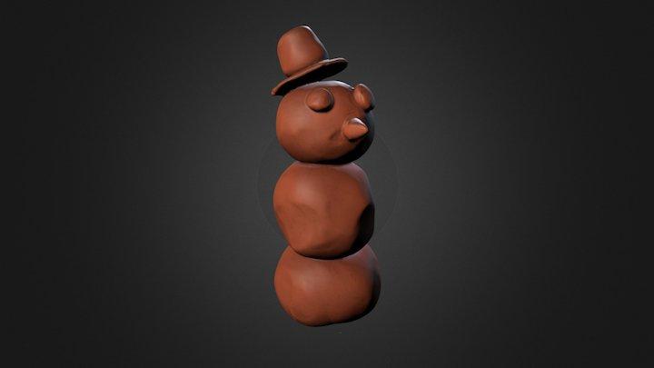 Frosty 3D Model