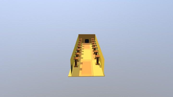 Last Corridor model 3D 3D Model