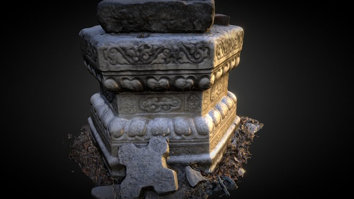 Stone carving 3D Model