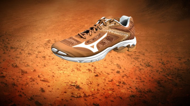 Mizuno | Wave Lightning Z5 - Italian Version 3D Model