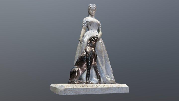 Erzsébet Királynő - Keszthely (HU) 3D Model