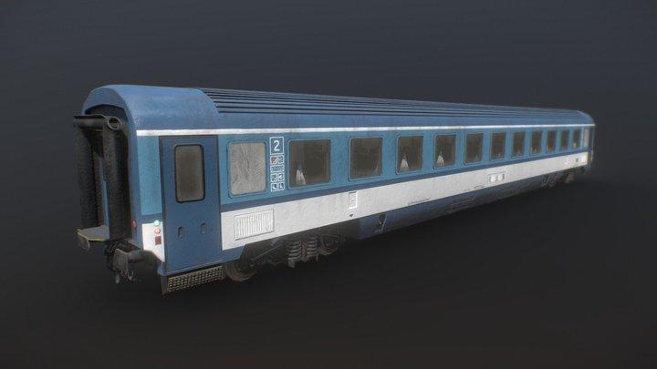 Passenger carriage (train) 3D Model