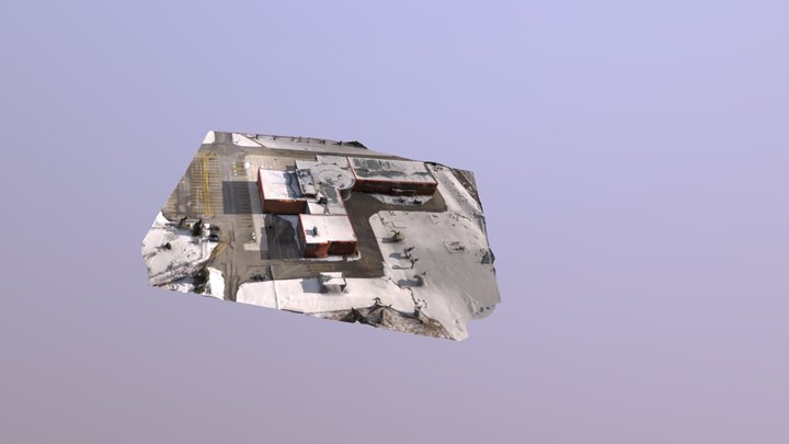 Building Test - School 3D Model