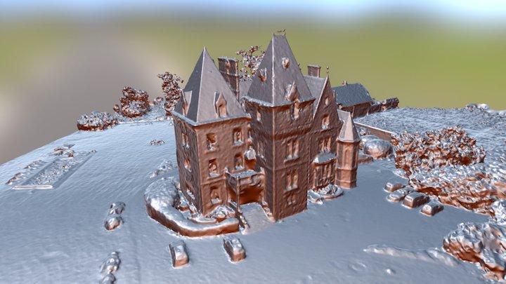 Chateau de Montour 3D Model