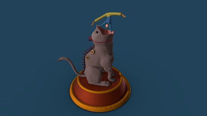 Chimera Whisperer 3D Model