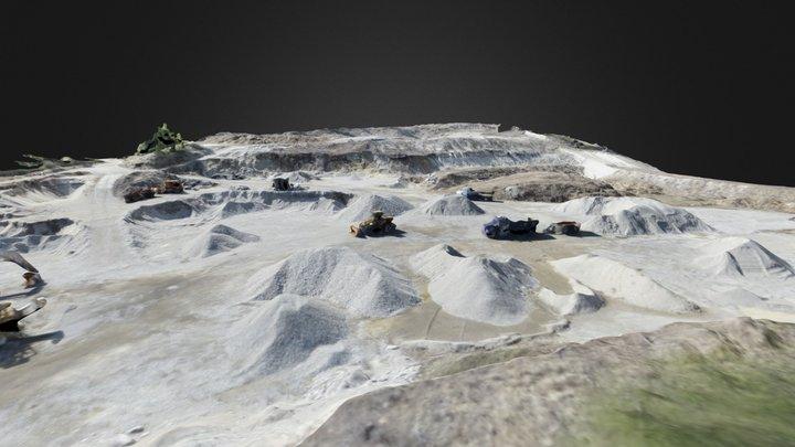 Gravel Pit Survey 3D Model