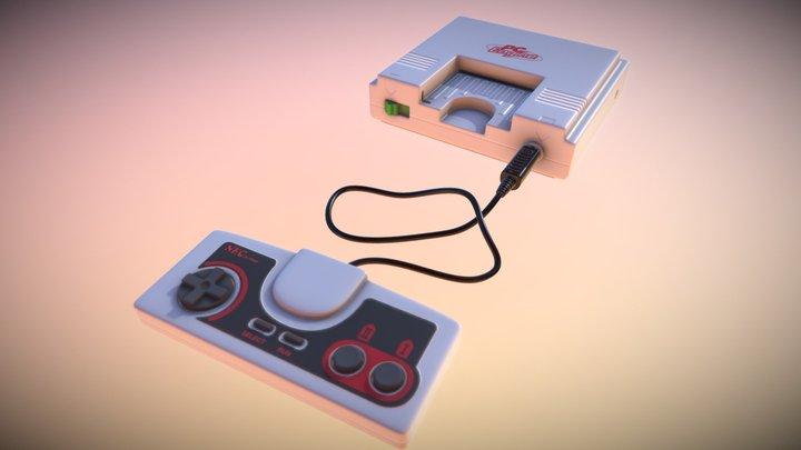 PCEngine 3D Model