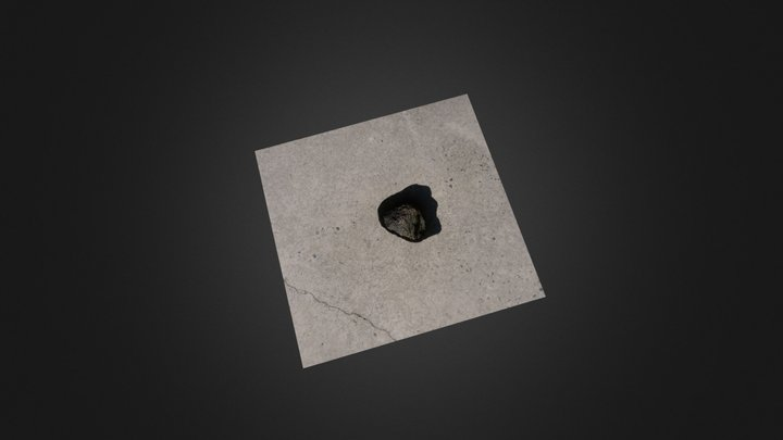 3d Rock Scan 3D Model