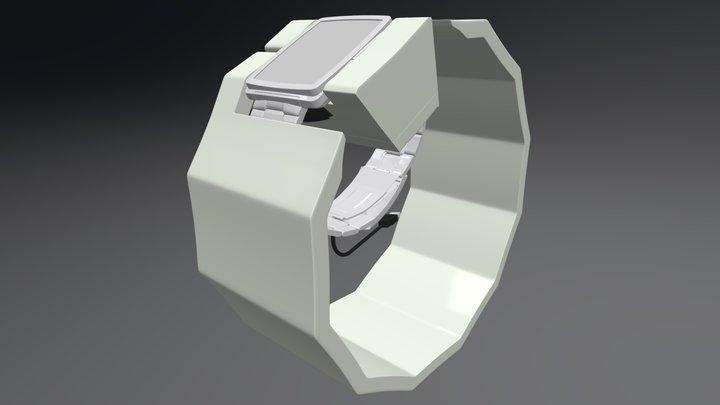 ReVault charging dock 3D Model