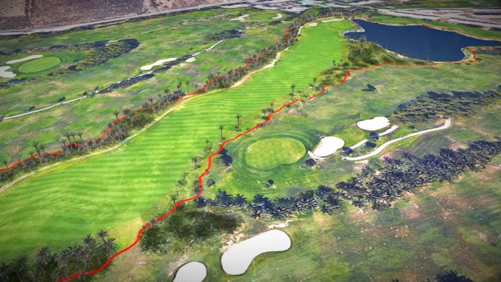 Campo Golf 3D Model