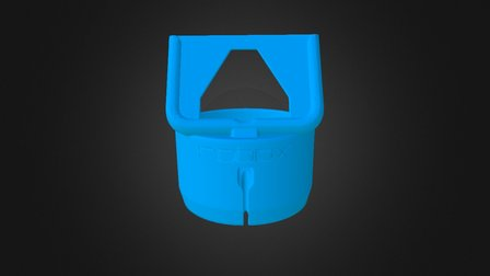 iPhone 6+ Cup holder dock 3D Model
