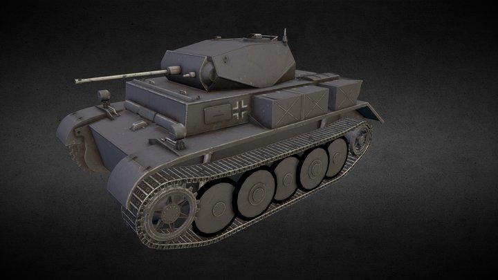 Panzer II Luchs 3D Model