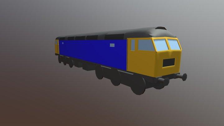 British Rail Class 47 3D Model