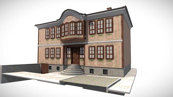 Srebrov House - 3D architectural model 3D Model