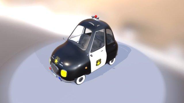 Classic Police 3D Model