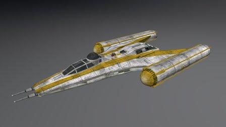 Y-Wing BTL-B 3D Model