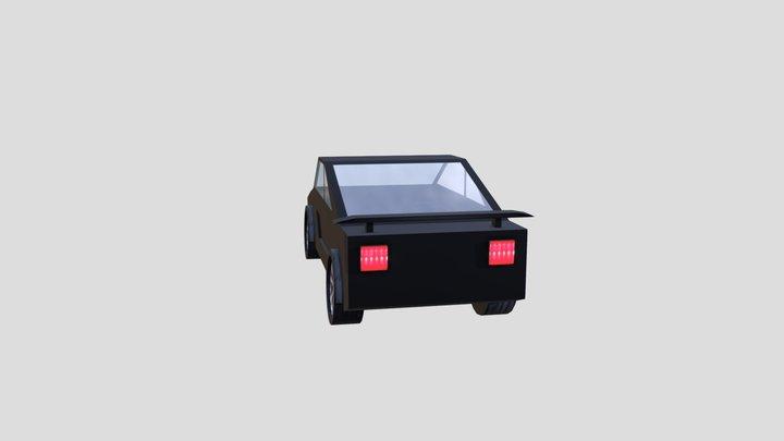Coche deportivo 3D Model