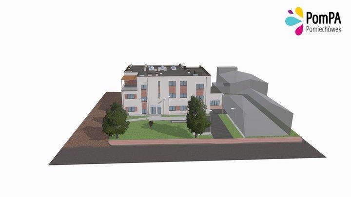 Gminny Ośrodek Kultury w Pomiechówku 3D Model