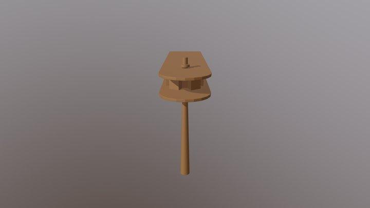 Matraca 3D Model