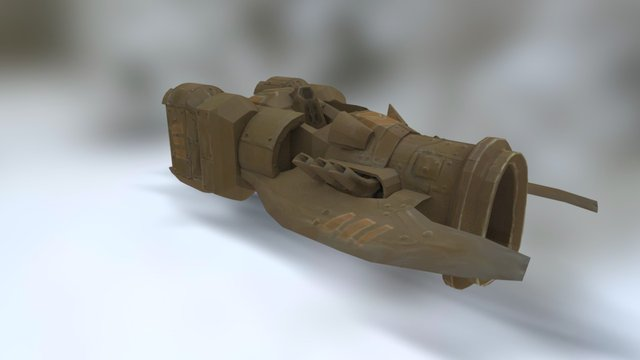 A really fast thing 3D Model
