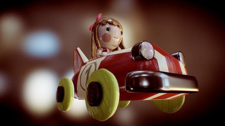 puppet car 3D Model