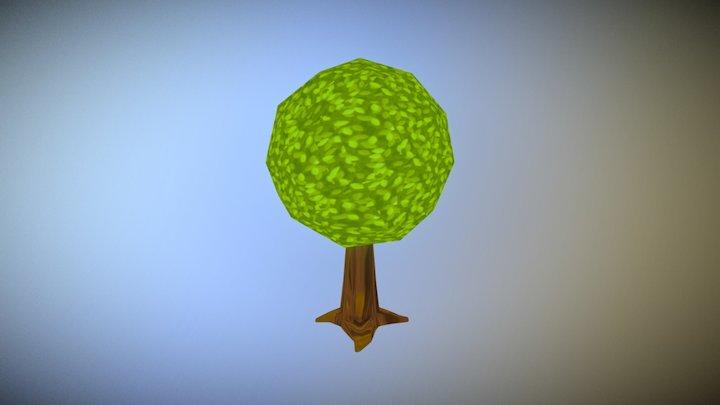 Tree Toon 03 3D Model