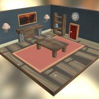 Room - One Step Back 3D Model
