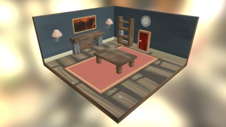 Room - One Step Back 3D Model