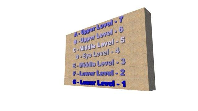 Aeternum Columbary Vault 3D Model