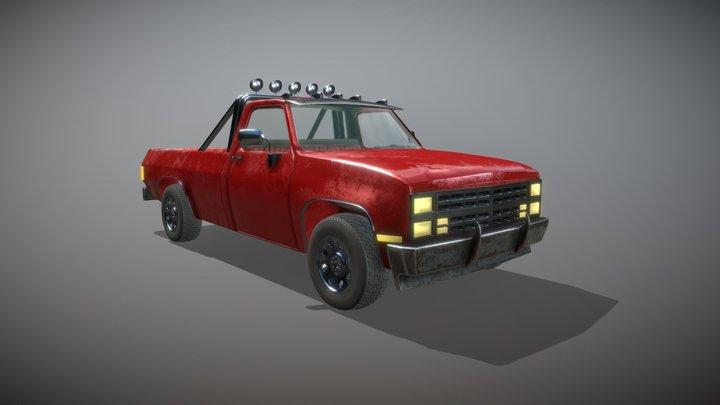 1983 Chevrolet C10 3D Model