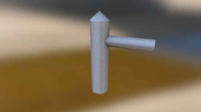Fencepost 3D Model