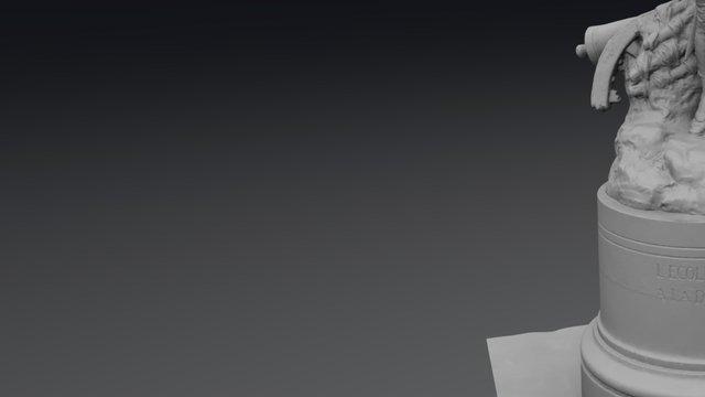 Statue du Conscrit 3D Model