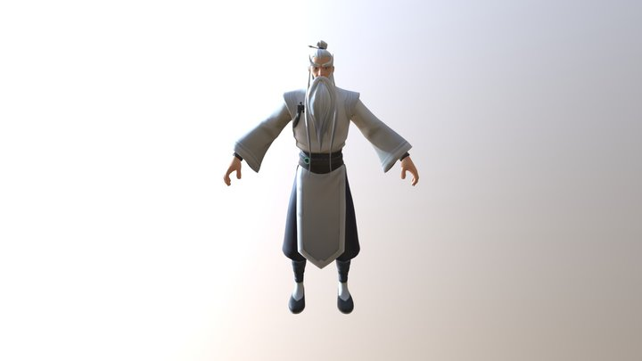 Shifu (Leaked Outfit) 3D Model