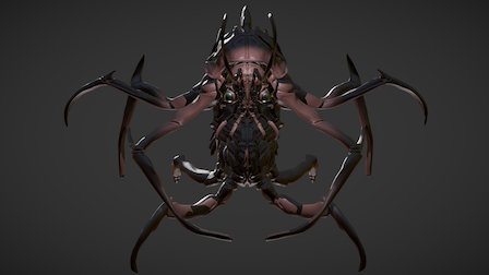 Insectoid 3D Model