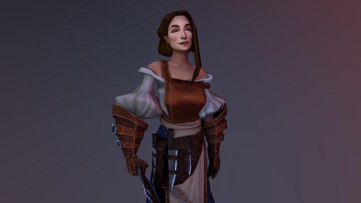 Butcher Character 3D Model