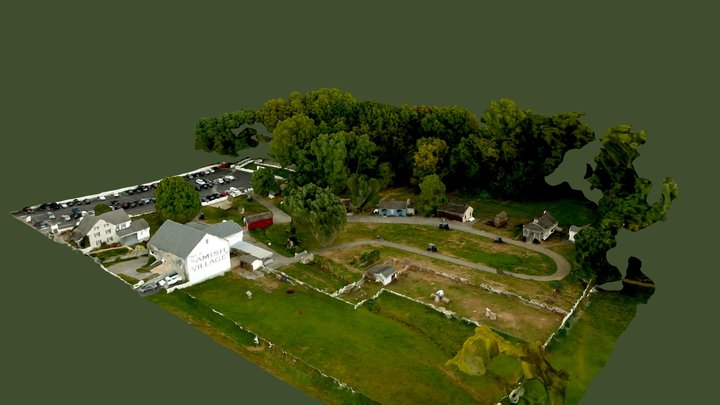 Amish Village located in Strasburg, PA 3D Model