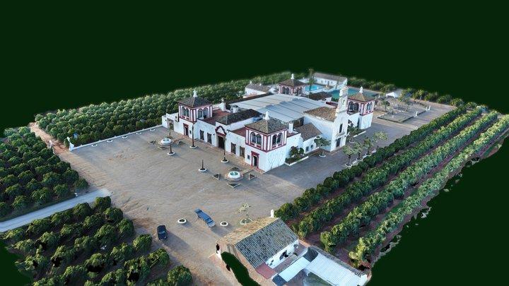 Hacienda Timoteo - Mapping 3D Drone 3D Model